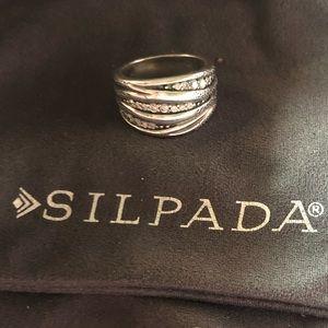 Silpada R2035 - Organics Ring Size 8